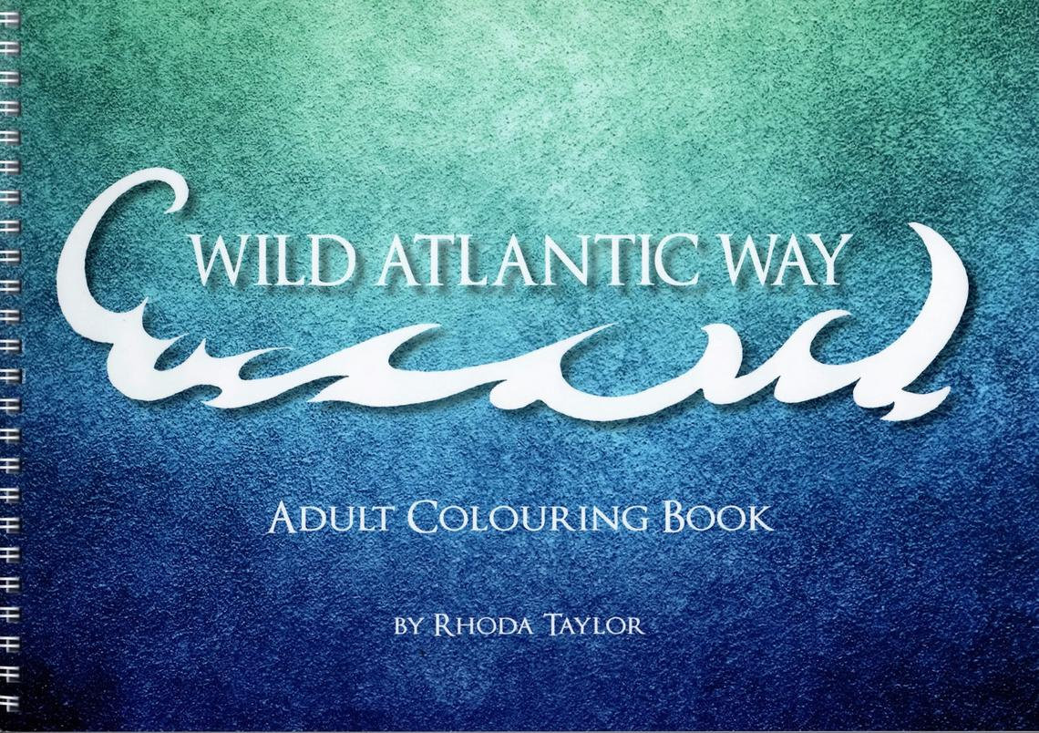 Wild Atlantic Way Colouring Book